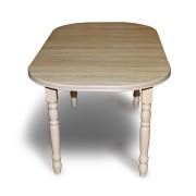Stół pokojowy owal nogi toczone