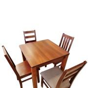 Zestaw kuchenny plus cztery krzesła kuchenne