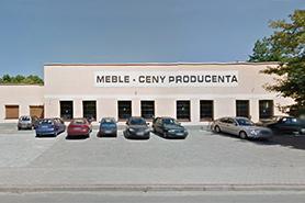 Widok sklepu Jacek Meble - Kędzierzyn-Koźle